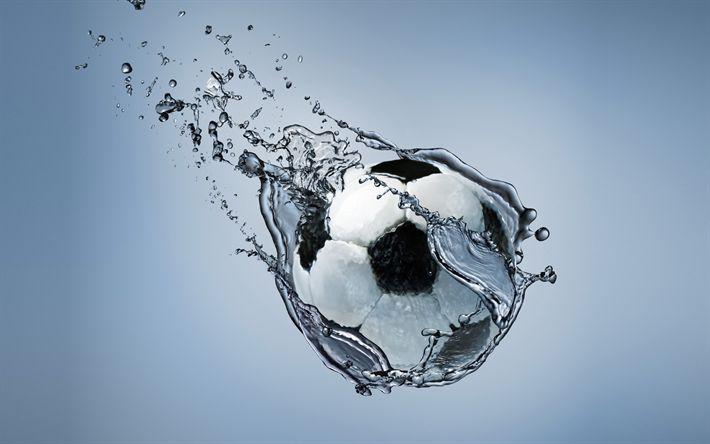 Fondos De Pantalla Fútbol Pelota Silueta Deporte: Descargar Fondos De Pantalla Balón De Fútbol, 4k