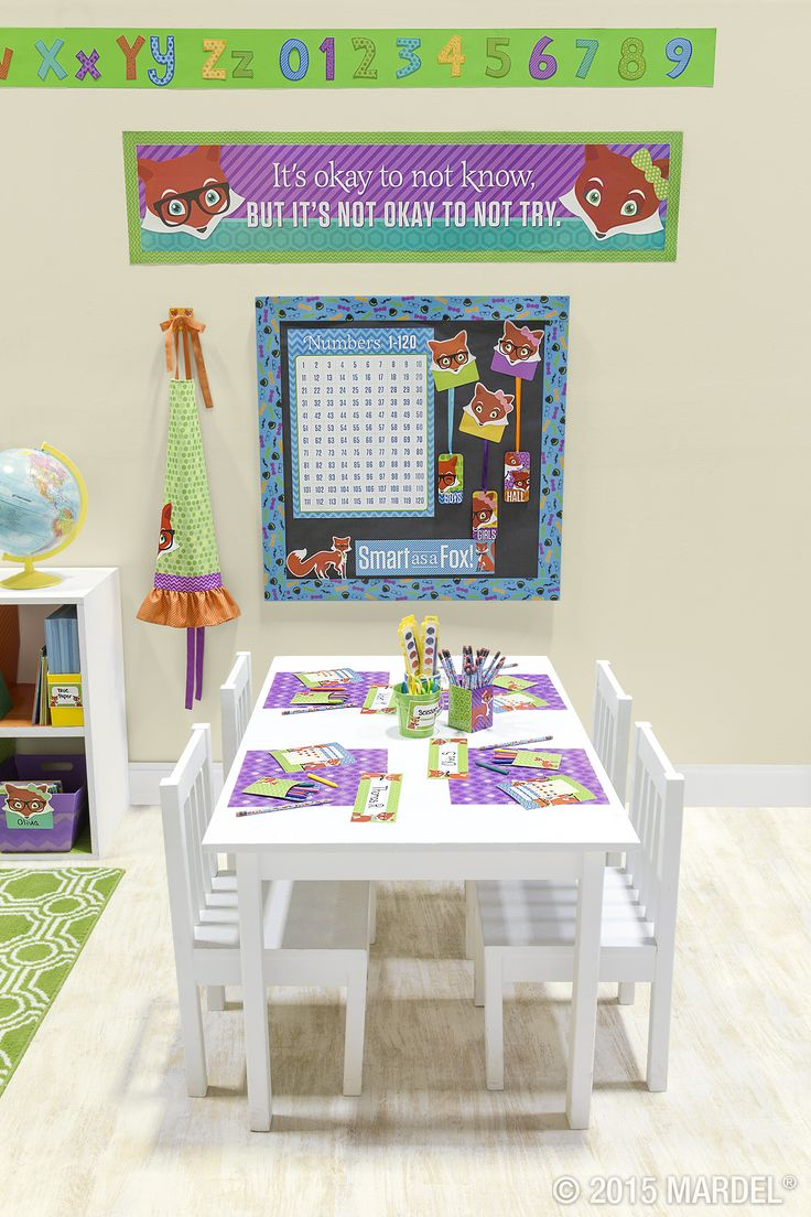 Classroom Decor Collections : Best foxtrot classroom collection mardel exclusive