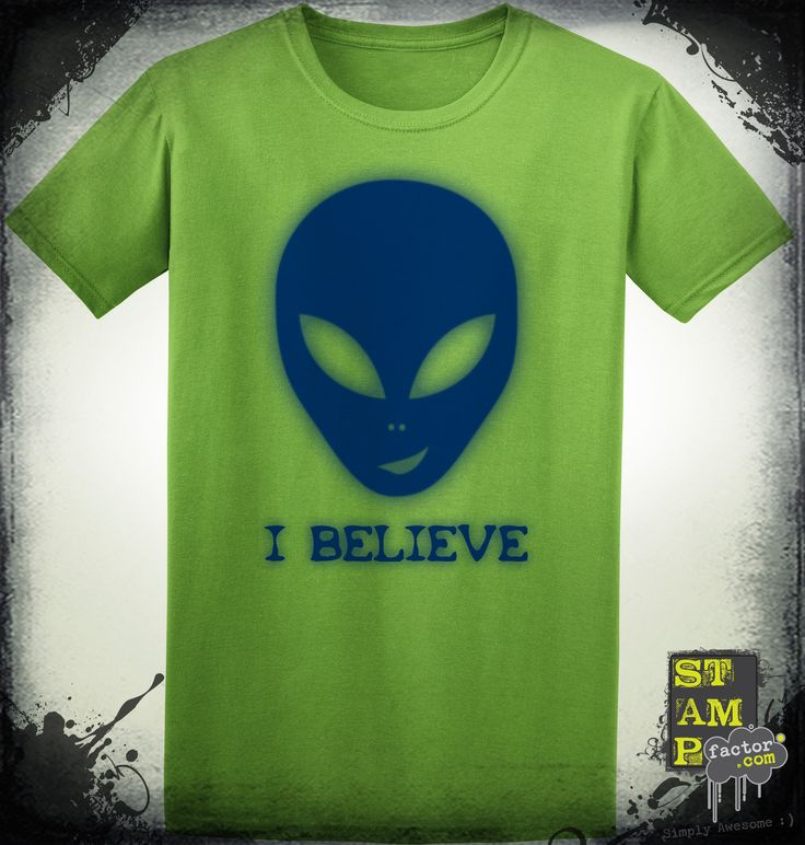 I Believe (Dark Midnight Blue) 2014 Collection - © stampfactor.com *T-SHIRT PREVIEW*