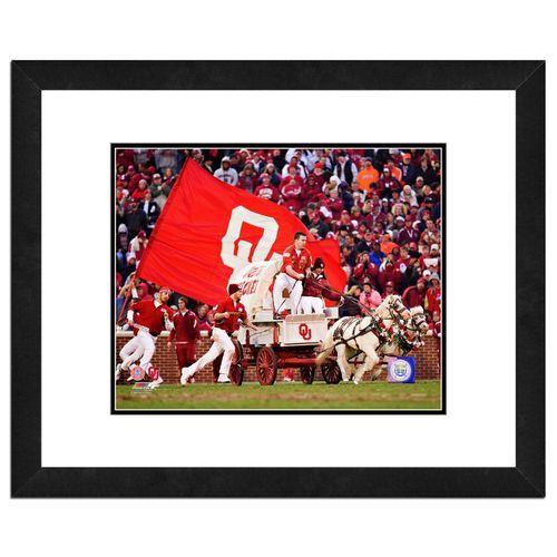 Photo File University of Oklahoma Sooner Schooner 8 x 10 Mascot Photo