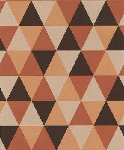 Trendig tapet med geometriskt mönster från kollektionen Podium POD502. Klicka för att se fler inspirerande tapeter för ditt hem!