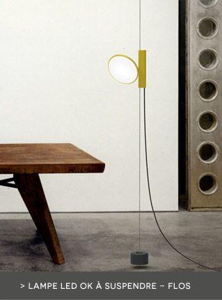 Lampe OK à suspendre au plafond / LED - Flos…