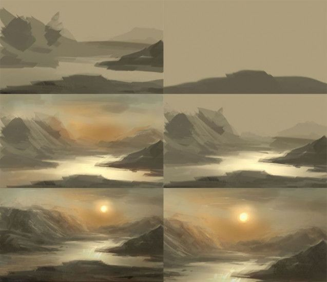 You Will Never Believe These Bizarre Truths Behind Digital Painting Landscape Tutorial Digital Painting Techniques Landscape Painting Tutorial Digital Painting