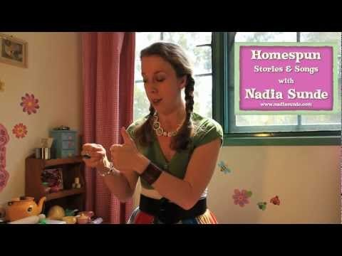 Nadia's Homespun Songs and Stories - Wiggle and Waggle - YouTube