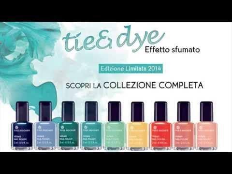 Yves Rocher - Tutorial Unghie Effetto Tie&Dye - YouTube