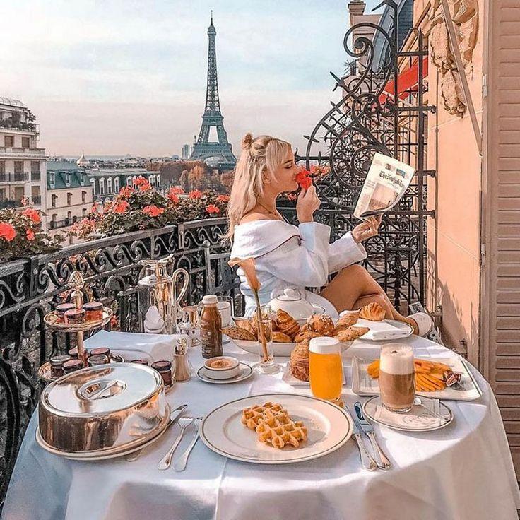 утро в париже фото пудинг традиционное