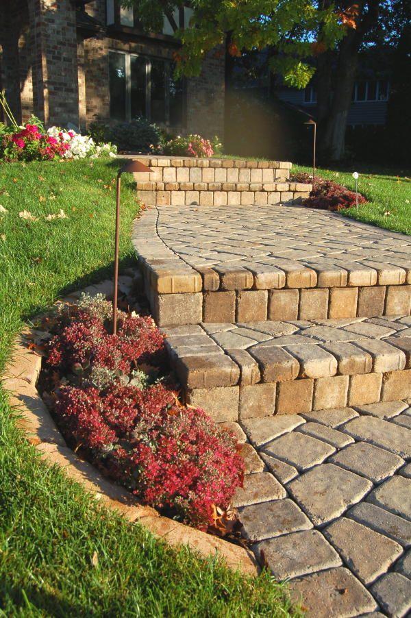 Paver Steps 4 Landscape Steps Foundation Planting