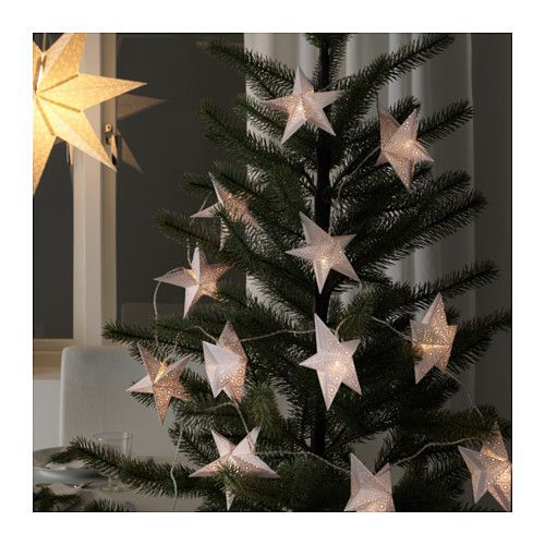 IKEA - STRÅLA, Decoration for light chain, , You can use these decorations to personalize your light chain to match the season or your style – and change them any time you like.You can use them to decorate trees, frame windows, drape shelves, etc.
