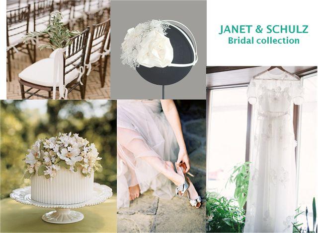 Tocados de novia para una boda romántica ~ JANET AND SCHULZ