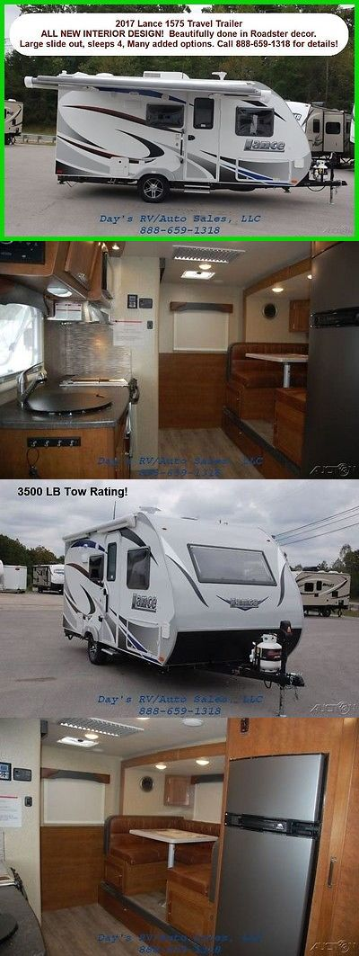 rvs  2017 Lance Travel Trailers 1575 New Bumper Pull Behind Camper 1 2 Ton  Towable Rv BUY IT NOW ONLY   29300 0   rvs   Pinterest   Campers  Trailers  and. rvs  2017 Lance Travel Trailers 1575 New Bumper Pull Behind Camper