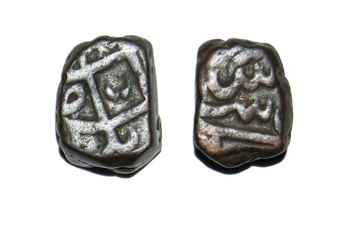 Mughal Emperor Muhammad Shah Dam Elichpur Mint Rare Coin | eBay
