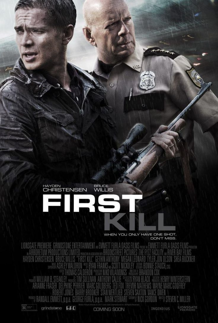 First Kill (MA15+)  Available November 30 – Outdoor from February 30 First Kill BannerAction/Drama, Rated MA, 97 Minutes. Starring Hayden Christensen, Bruce Willis. Trying to reconnect with his son Danny, big shot Wall Street broker Will takes his family on a hunting trip to the cabin where he grew up. The trip takes a deadly turn when they go hunting and stumble upon several robbers and witness the murder of one of the criminals. After becoming entangled in a bank heist gone bad, which…