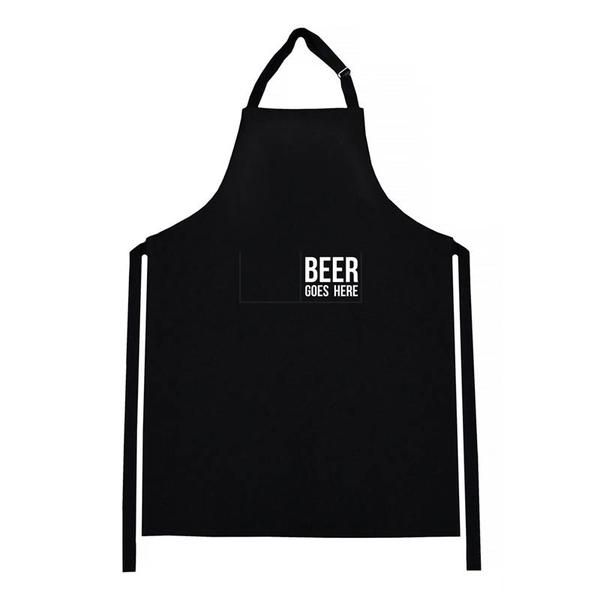 Linens & More Beer Goes Here Mens Apron | Koop.co.nz