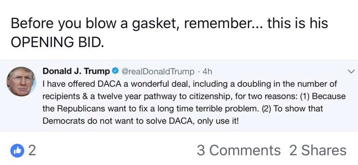 DACA trump deal - Dems don't wabt it fixed, they are their pawns for message of the 2018 mid term vote