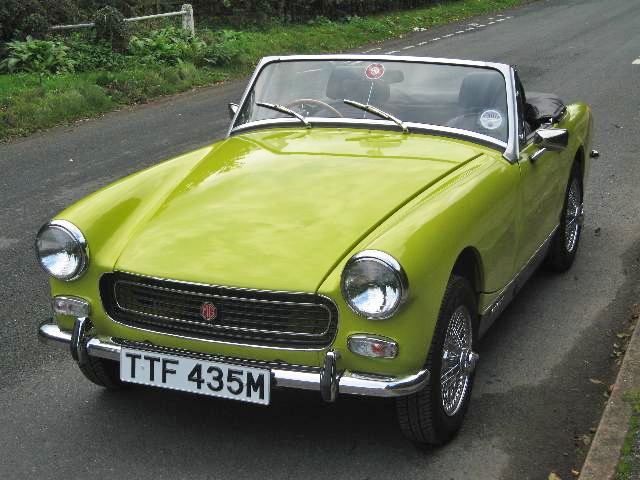 MG Midget Mk III  bit of a strange color, but a beauty nonetheless