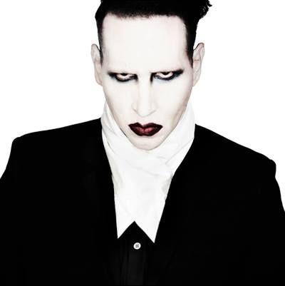 Marilyn Manson wearing 'Jack' silk neckwear | gTIE Neckwear & Accessories