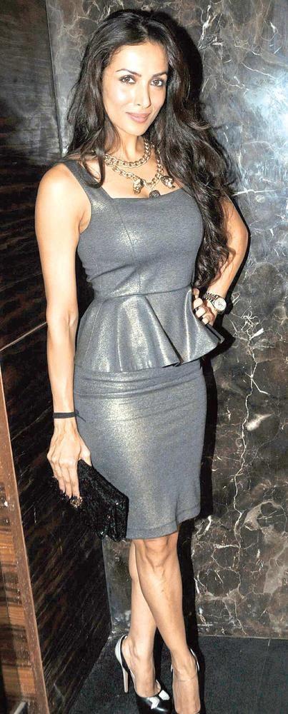 Metallic glow: Malaika Arora Khan #Bollywood #Fashion
