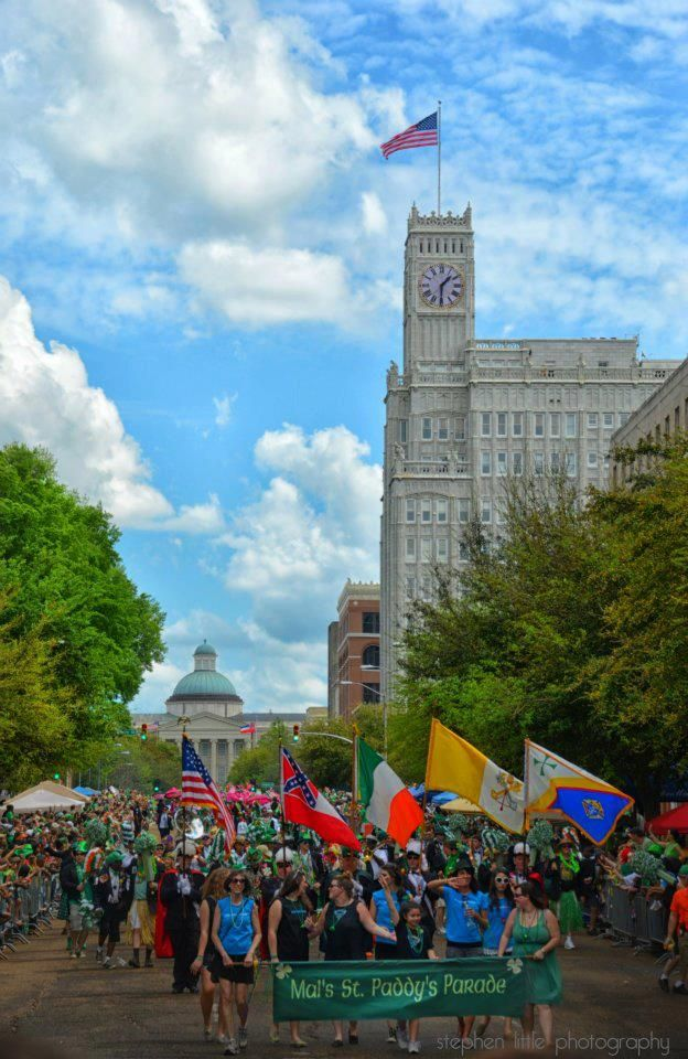 Mal's St Paddy's Day Parade, Jackson Mississippi (3rd largest SPD parade in the USA!) photo by Stephen Little