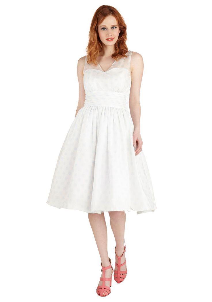 Professionally Posh Dress in Dots | Mod Retro Vintage Dresses | ModCloth.com