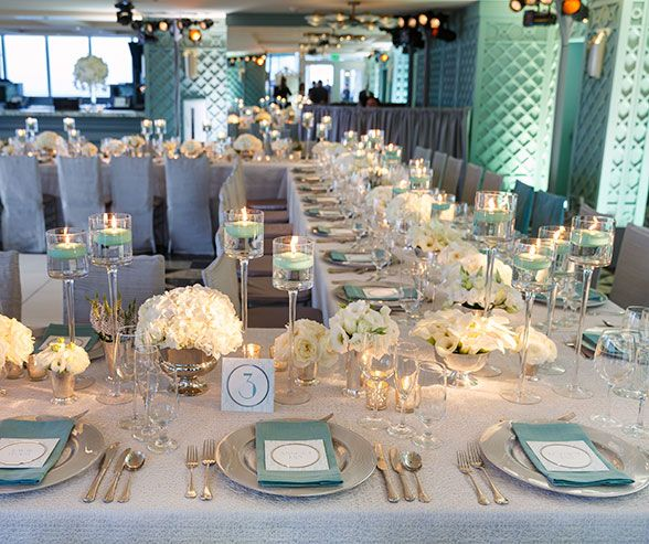 Wedding Decorations, Real Weddings,Tiffany Blue || Colin Cowie Weddings