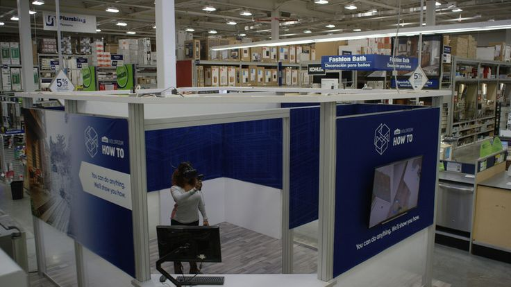 Hardware And Home Improvement Store Lowes Provides VR Clinics For DIY