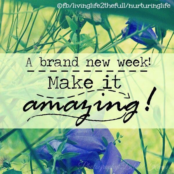 Happy Week Quotes Inspirational: 205 Best Images About Monday Blessings On Pinterest