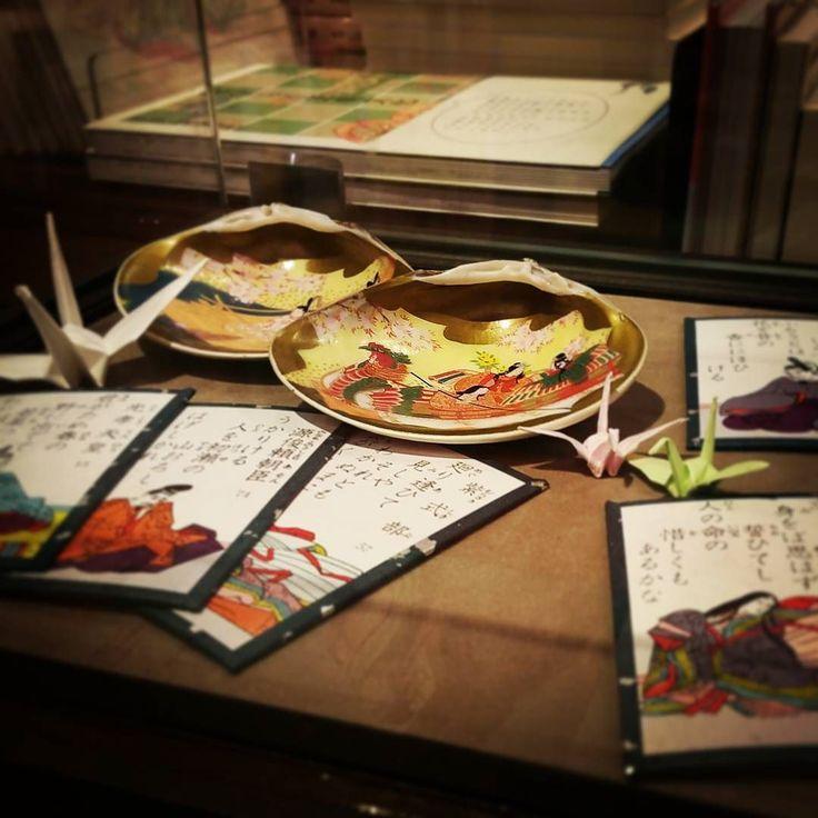 #京都岡崎蔦屋書店 #蔦屋書店 #京都 #kyoto #kyotookazaki #art #ロームシアター京都 #百人一首 by kyoto.okazaki_tsutayabooks
