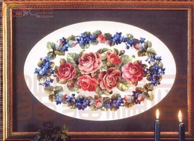 [Novo] Permin 70-7019-Roses para uma menina bonita -
