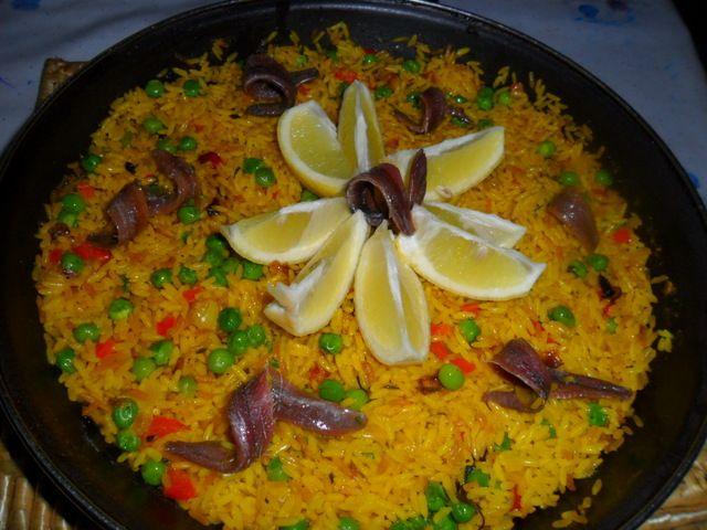 Arroz con verduras y anchoas recipe recetas - Arroz con verduras light ...