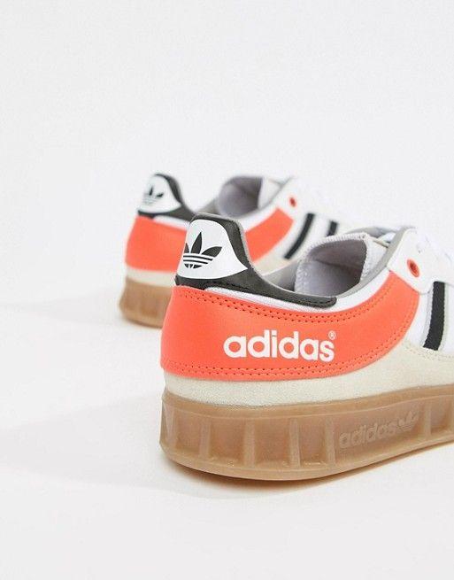 separation shoes 649a7 099c5 adidas Originals  adidas Originals Handball Spezial Trainers In Beige  AQ0905