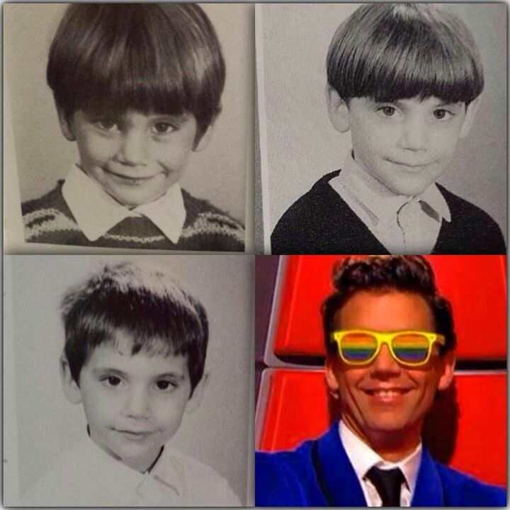3 young Mika pics! (the fourth is from The Voice France 2014)