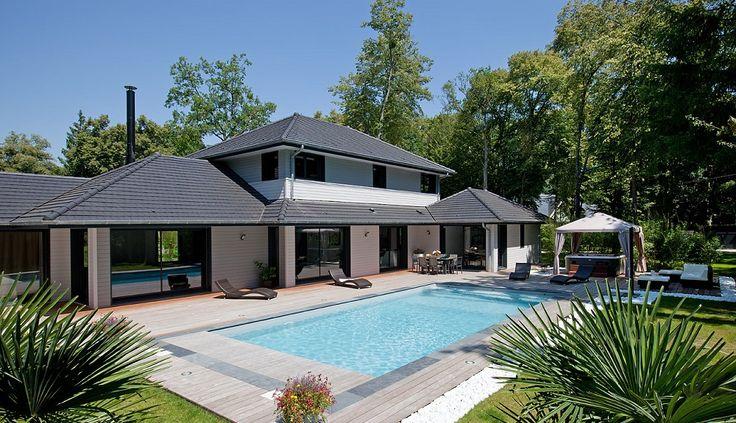 20 best VENTES - Maisons  Villas images on Pinterest Mansions - location maison cap ferret avec piscine
