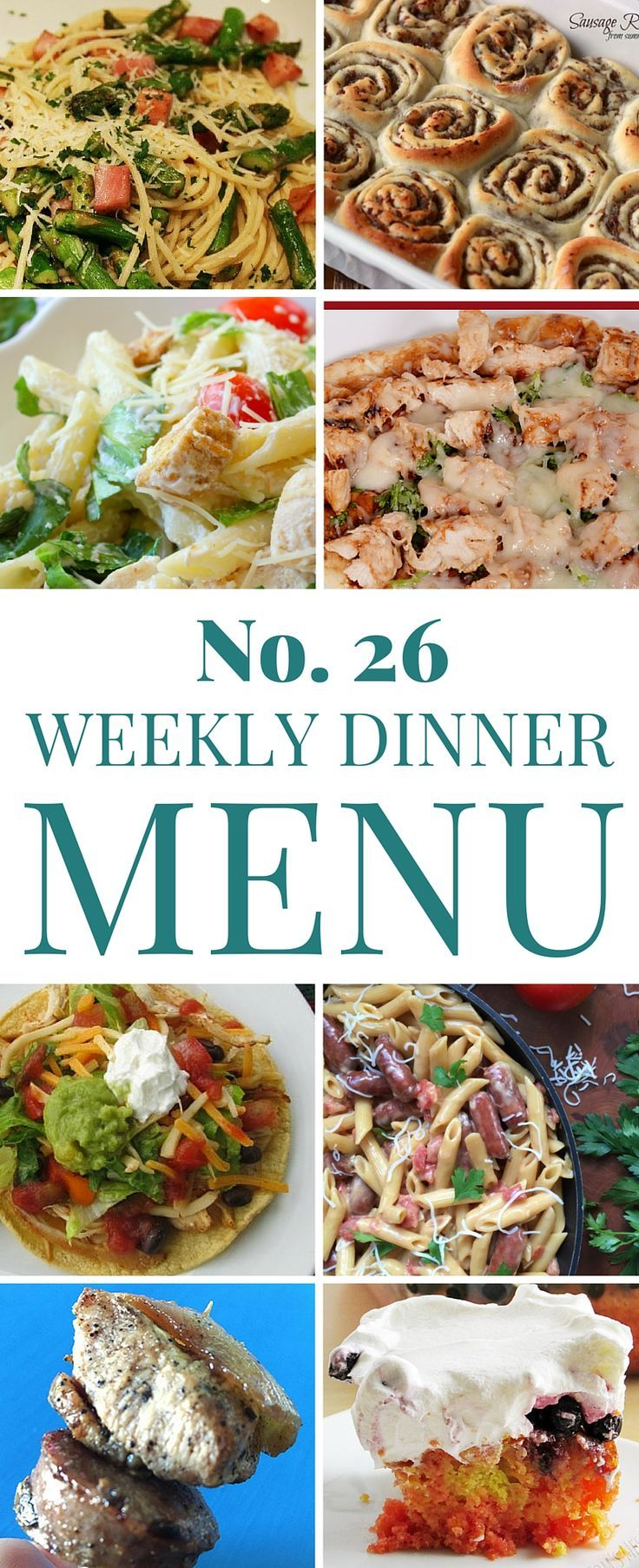 Let me plan your weekly dinner menu for you! All recipes are tested in our kitchens and are sure to please the pickiest of picky eaters.