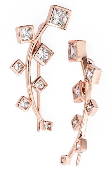 Marcia Moran Crystal Ear Cuffs available at #Nordstrom