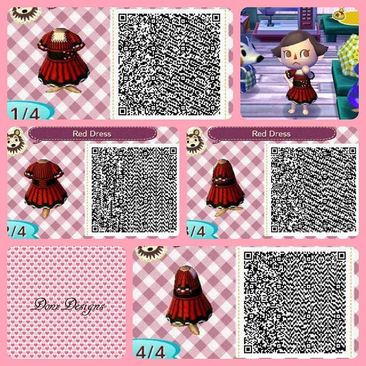 Animal Crossing Red Dress By Donzdesigns Animal Crossing