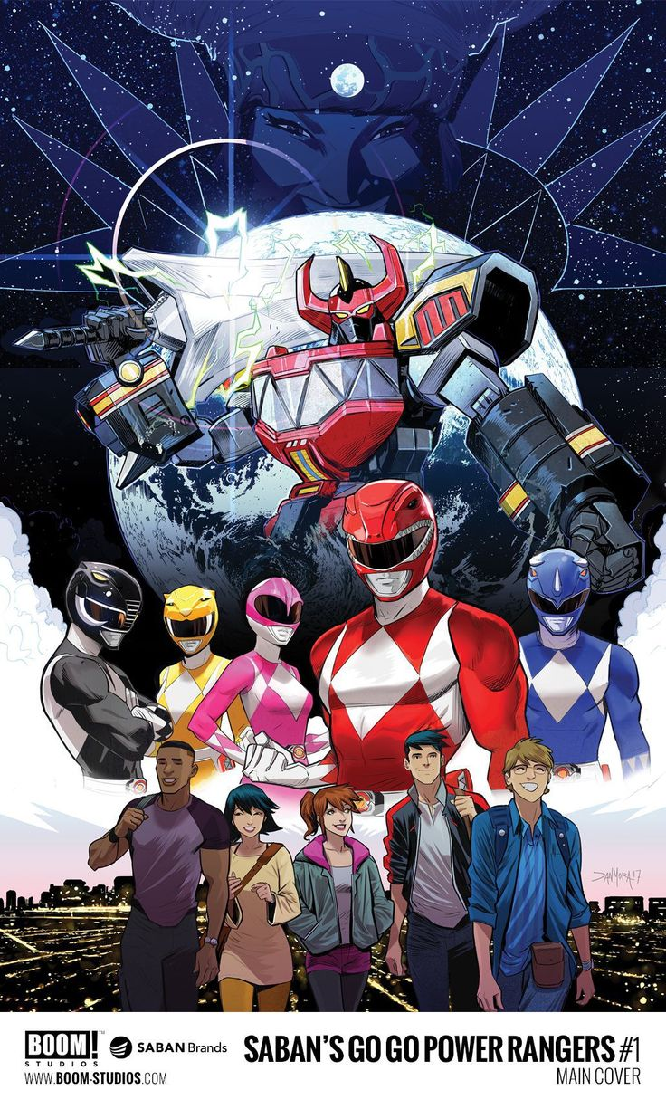 """BOOM! Studios and Saban have announced """"Go Go Power Rangers,"""" the second ongoing comic based on the original """"Mighty Morphin Power Rangers"""" TV series, will be released this July. #SonGokuKakarot"""