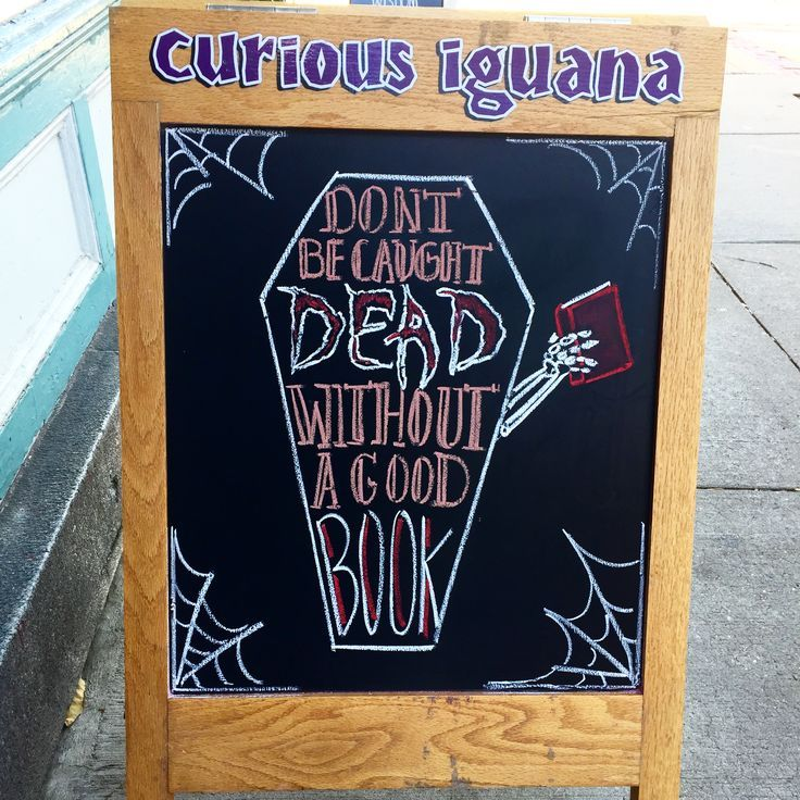 Halloween #booksign   Library signs, Book themed crafts ...