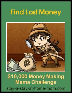 http://www.stay-a-stay-at-home-mom.com/lost-or-unclaimed-money.html Get Paid to Help Others Find Lost Money