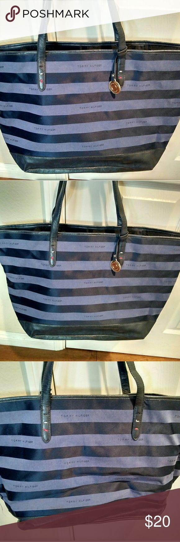 I just added this listing on Poshmark: Tommy Hilfiger signature tote bag purse. #shopmycloset #poshmark #fashion #shopping #style #forsale #Tommy Hilfiger #Handbags