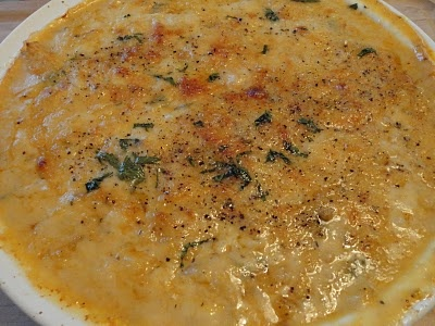Chupe de Ostiones y Camarones (Scallops and Shrimp Chilean Style Au Gratin) | Cuisine with Chilean flavor