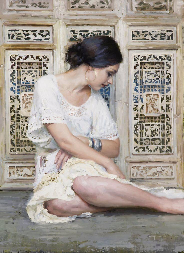 Jeremy Mann 1979 | American Impressionist Figurative painter | TuttArt@ | Pittura * Scultura * Poesia * Musica |