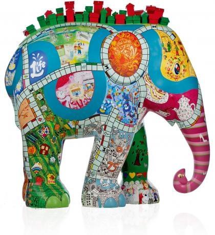Monopoly Community Chest: Chest 2010, Elephant Parade, Hoo Elephants, Elephants Parade, Parade Elephant, 107 Monopoly Community Chest, Http Www Elephantparade Com, Monopoly Elephant, Elephant Horse Cow Parade