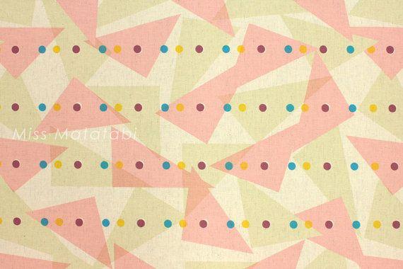 Japanese Fabric - Kokka Jubilee Printed Matted Line