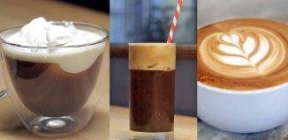 Így készülnek a világ legnépszerűbb kávéi. Tanuld meg te is elkészíteni őket!