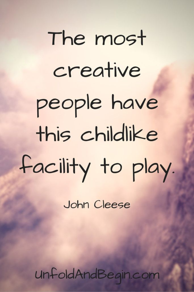 The Most Creative People - Unfold and Begin