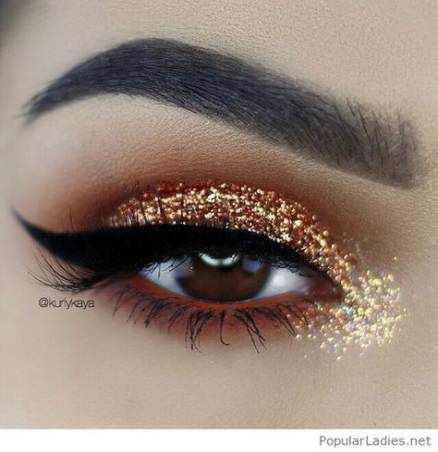Makeup For Brown Eyes Glitter 69+ Ideas