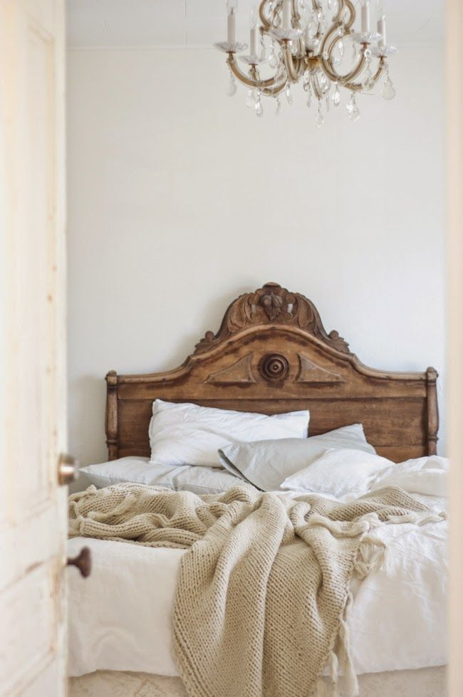Brown wood bed We have the best bedroom decor inspiration on http://dropdeadgorgeousdaily.com/2014/04/sheets-unisex-bed-spreads-will-make-happy/