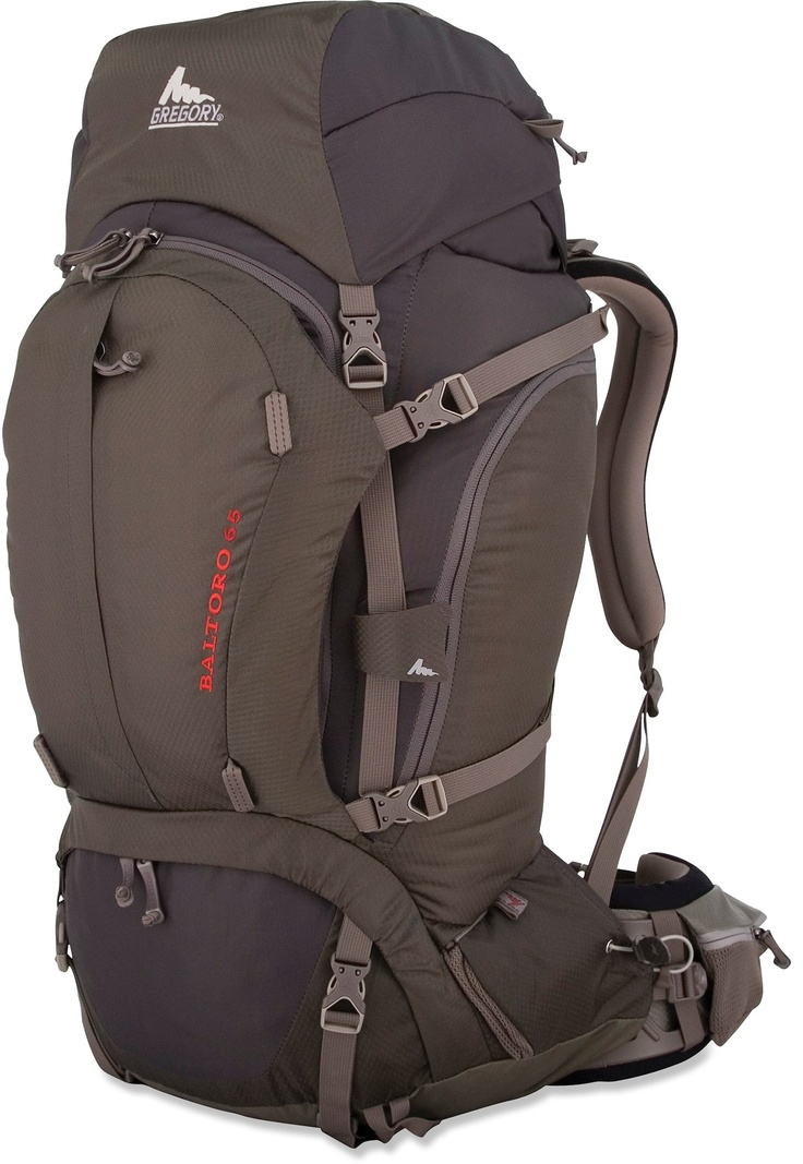 Customers give the Gregory Baltoro top ratings in the comfort department.