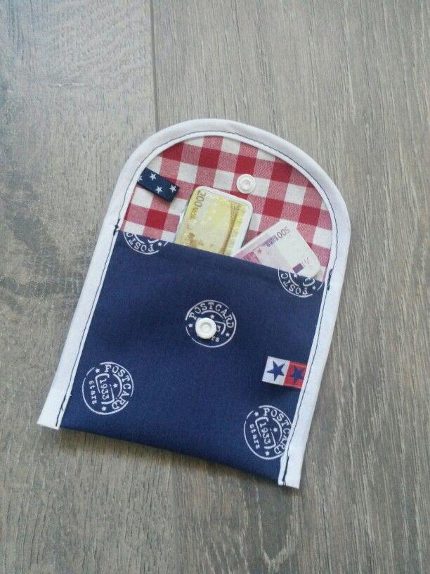 Portemonnee, biasband, restjes stof, naaien, naaimachine, zelfgemaakt, handmade, labeltjes, sewing, dinimade.blogspot.de kamsnap