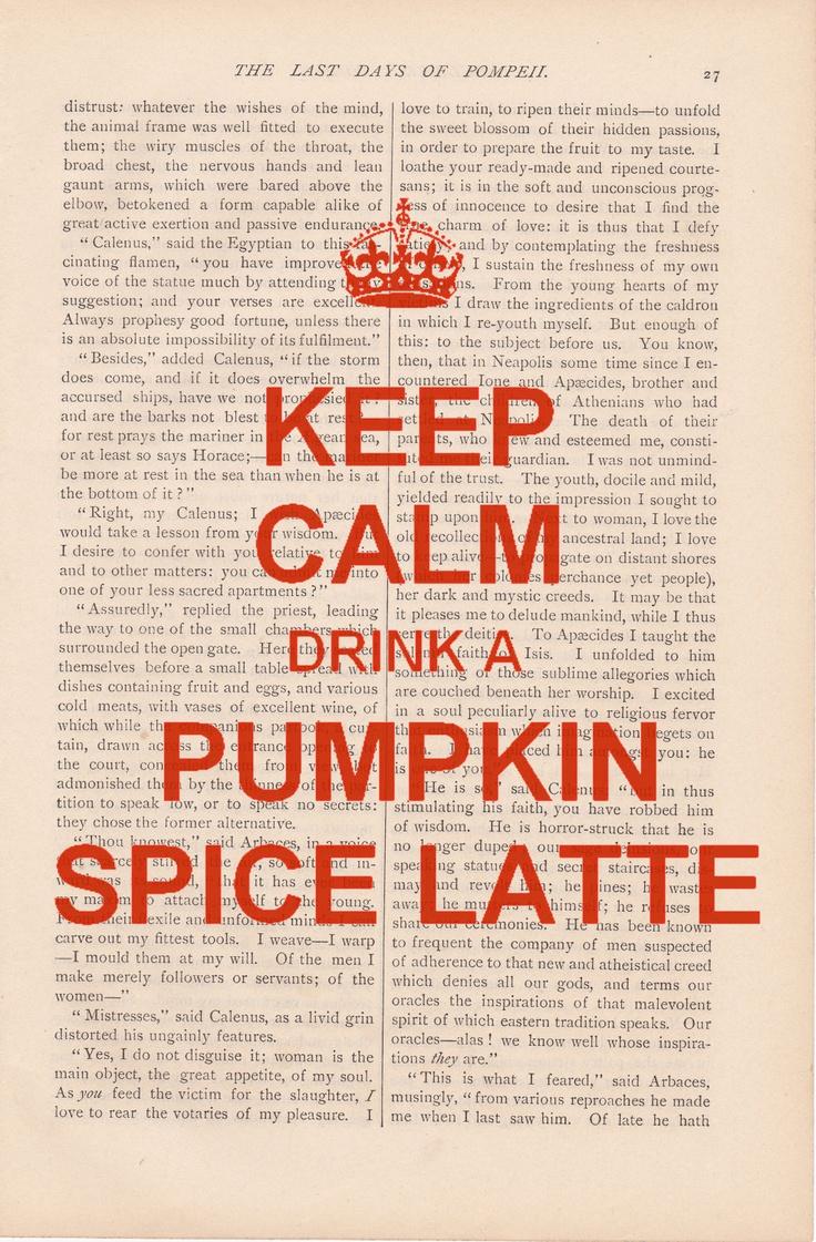 YES - dont mind if i do!: Pumpkin Spice Latte, Pumpkin Latte, Fall, Pumpkins, My Life, Keep Calm, Latte Season